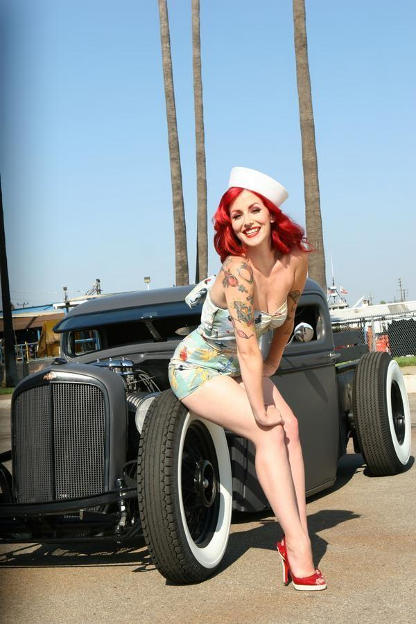 Old Ups Trucks For Sale >> This Months Pin Up Girl ( June 2009 ) | Greaser Alley
