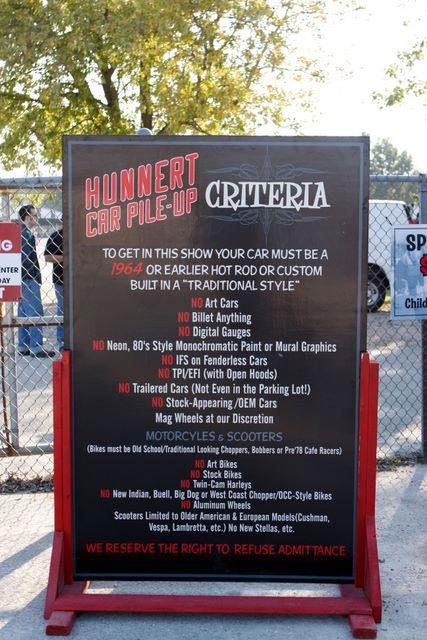 Hunnert - Criteria