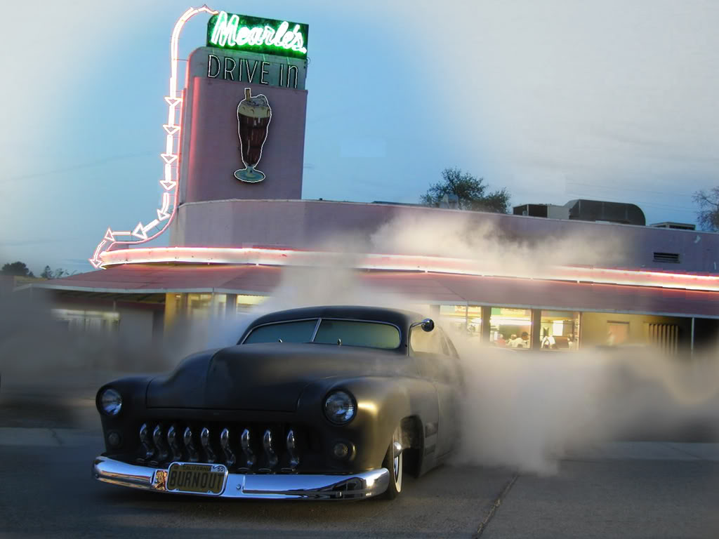 classic cars pinups